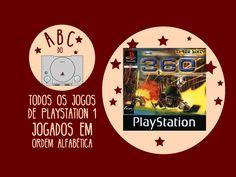 360: Three Sixty - Gameplay comentado em português [ABC do PS1]