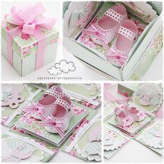 scrappassion: słodki prezent dla dziewczynki