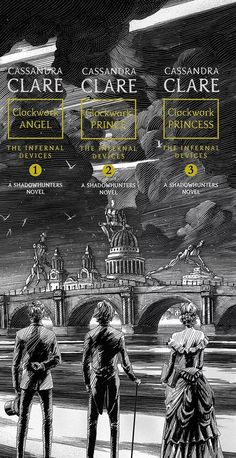 The Infernal Devices by Cassandra Clare : September 2015 reissue (spine art) Livros Cassandra Clare, Cassandra Jean, Cassandra Clare Books, Shadowhunters Clary And Jace, Jace Lightwood, Clary Fray, Mortal Instruments Books, Shadowhunters The Mortal Instruments, The Infernal Devices