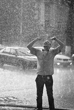 Dance in the rain.....