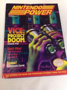 Nintendo Power Magazine Volume 24 May 1991 Vice: Project Doom