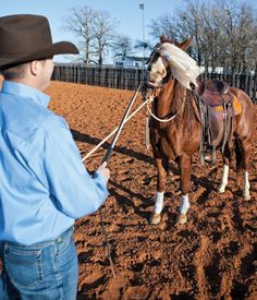 Courtesy of Downunder Horsemanship.Helping your horse not to spook & become more reliable