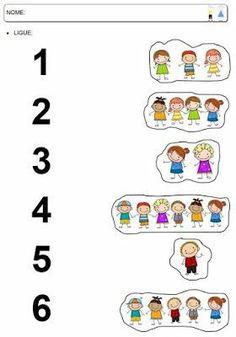 Preschool Writing, Numbers Preschool, Preschool Learning Activities, Kids Learning, Kindergarten Math Worksheets, Number Worksheets, Shapes Worksheets, Math For Kids, Barn