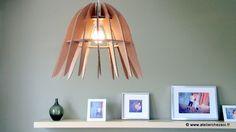 Fabriquer un Luminaire design en carton - patron PDF téléchargeable immédiatement : Kits et tutoriels Home Déco par atelier-chez-soi