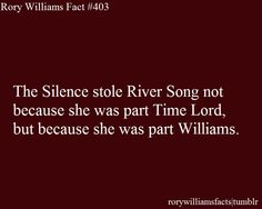 She was part Williams