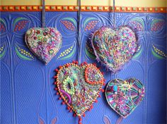Handstitched Hearts
