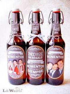Lola Wonderful_Blog: Regalo de boda: Cervezas personalizadas