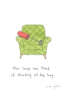 Marc Johns - Tired Lamp