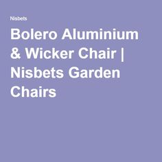 - Bolero Wicker Chair with Aluminium Frame - Natural Finish (Pack Garden Table And Chairs, Catering Equipment, Wicker Chairs, Natural, Rattan Chairs, Cane Chairs, Nature, Au Natural