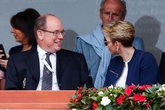 Charlène und Fürst Albert von Monaco am 17. April 2016 in Monte-Carlo. - ddp…