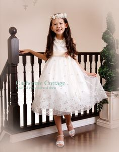 932818f8fde16 カラー刺繍オーガンジードレス 子供服 フォーマル 結婚式 発表会 子供ドレス 衣装 キッズ 女の子