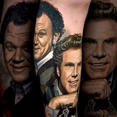 Hyperrealistic Portrait Tattoo Art by Nikko Hurtado - http://designyoutrust.com/2014/11/hyperrealistic-portrait-tattoo-art-by-nikko-hurtado/
