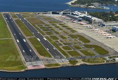 Overview of Rio de Janeiro - Santos Dumont Airport, Brazil