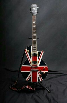 Agile Union Jack by QuakerOatsGuy on DeviantArt Gretsch, Guitar Art, Cool Guitar, Zona Musical, El Rock And Roll, Rock Poster, Union Flags, British Things, Jackson