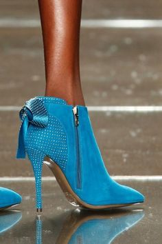 Turquoise Luis Onofre Ankle Shoe