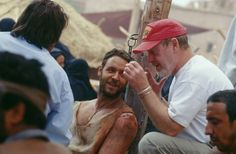 Russell Crowe and Ridley Scott in Gladiator (2000)