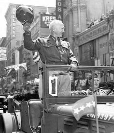 General George S. Patton went down history as one of America's most beloved military figures whose popularity was only exceeded by his accomplishments in Us History, American History, British History, Ancient History, Native American, George Patton, Military Figures, Military History, World War Ii