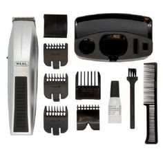 Professional Mens Hair Trimmer Cordless Stand Precision Beard Stubble Grooming  #Wahl