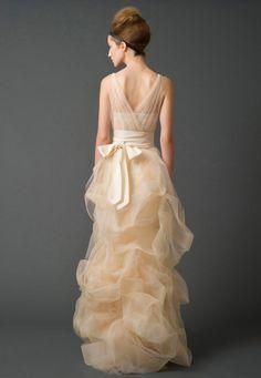 Wedding Dresses, Bridal Gowns by Vera Wang   Fall 2011