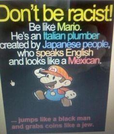 Mario...... funny lol