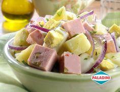 Una opción fresca para los almuerzos de verano en la oficina. Tentate con nuestra receta de Ensalada de papas y salchichón triple