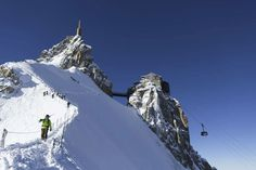 The Vallée Blanche Ski Descent in Chamonix The Snow, Snowboarding, Skiing, Chamonix Mont Blanc, Best Ski Resorts, Ski Vacation, Mountain Vacations, French Alps, Adventure Activities