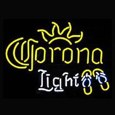 Corona Beer Bar Open Neon Signs///How I love you neon signs , Real nice for my Home Bar Deco