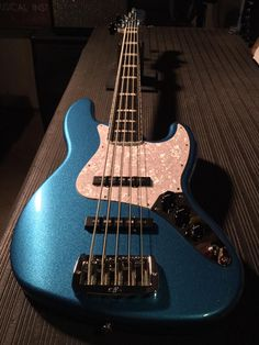 G&l Guitars, Lake Placid Blue, My Chemical Romance, Metallic, Pearl, Passion, Satin, Music, Collection