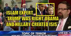 """VIDEO : Islam Expert, """"Trump is Right, ISIS is a Result of Obama and Hillary Clinton's State Department"""" (9/24/16)"""