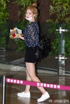 Dahyun leaving through Gimpo International Airport after TWICELAND ZONE 2 (Fantasy Park IN JAPAN) tour, which is held in Japan.