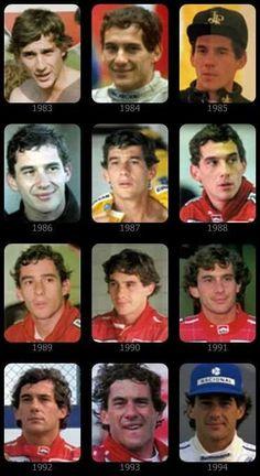 AYRTON SENNA #F1 #Senna