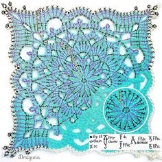 Fall in love with the motif . crochet open and free designs Crochet Mandala Pattern, Crochet Diagram, Doily Patterns, Afghan Crochet Patterns, Crochet Chart, Thread Crochet, Diy Crochet, Crochet Doilies, Crochet Stitches