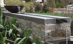 Moody Graham is a Washington DC based design firm focused on landscape architecture, garden design, and ecological planning. Landscape Architecture, Landscape Design, Fountain Design, Chevy Chase, Backyard, Patio, Western Red Cedar, Garage Design, Water Garden
