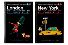 Monocle will be launching a new 'Travel Guide Series' of books in partnership with publishers Gestalten. The first two in the series will cover London and New York with plans to expand the series to include other cities such as Tokyo and Hong Kong.