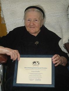 An epitome of humanity when such a thing was absent. Irena Sendler....