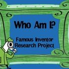 Powerpoint Research: Who Am I? Famous Inventor/Person Research Activity Science Classroom, Classroom Ideas, Teacher Resources, Teaching Ideas, Self Advocacy, Book Reports, 21st Century Skills, Reading Intervention, Book Study