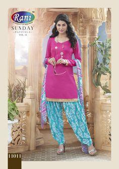 Punjabi Suit Indian Patiala Salwar Kameez Suit Pakistani Punjabi6 Designer Dress