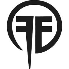 Fear Factory Peel & Rub Sticker, Vinyl Cut Logo (Black) x Fear Factory Vinyl Cut Logo (Black) Peel & Rub Sticker, Fear Factory Novelties, Fear Factory Merchandise S Logo Design, Monogram Design, Monogram Logo, Unique Logo, Cool Logo, Personal Logo, Geometric Logo, Band Logos, Logo Design Inspiration