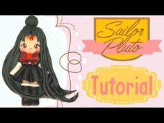 Sailor Pluto - Sailor moon series polymer clay tutorial