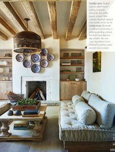 Interesting Light Wood Accents and Furnishings