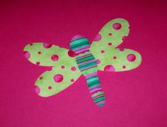 Fabric Applique TEMPLATE Pattern ONLY DRAGONFLY......New