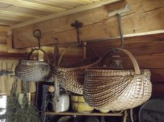 You can never have too many handmade baskets