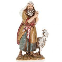 Pastor viejo con cabra 10 cm Moranduzzo | venta online en HOLYART