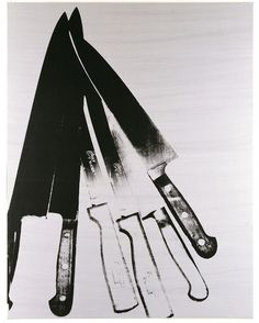 Andy Warhol - Knives, 1981-82