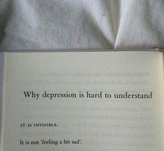 Depressions a bitch