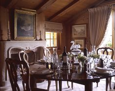 Cottage decor: Dining room | Mlinaric, Henry & Zervudachi