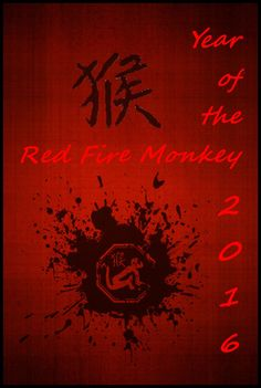 Chinese Year of the Fire Monkey ~ 2016 | Apanache
