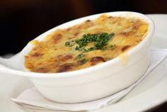 Eddie Martini's Burgundy Onion Soup