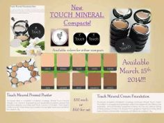 How about a little deal. First to buy any one of the NEW Mineral Touch Foundations will get one of the new pigments FREE from me!  https://www.youniqueproducts.com/JaryBecerra/party/101667/view