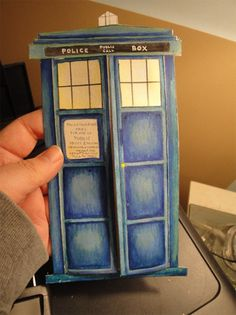 Doctor Who Valentine's Card for Ross